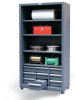 Combination Open-Drawer Storage -- 4.46-CSU-204-9DBWL