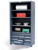 Combination Open-Drawer Storage -- 4.46-CSU-204-9DBWL