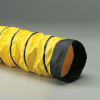 Single-Ply Yellow Acrylic Coated Polyester Fabric Hose -- Springflex® AWP-W 18.0