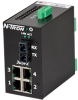 305FX Unmanaged Industrial Ethernet Switch, SC 15km