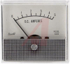 Ammeter; 0 to 5 A; 5%; 2.5 in.; Polystyrene Cases with Metal Scales -- 70136697