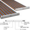 Rectangular Cable Assemblies -- H3CCS-6036M-ND -Image