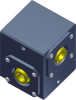 Mini Right Angle Gearbox -- Insert-A-Shaft® 4304