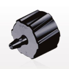Male Luer Lock to Barb, Black -- LM2131 -Image