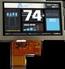 Standard TFT Display Modules -- ASI-T-430MA3AN/D
