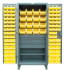 Four-Drawer Cabinet with Bins -- 46-BBS-241-4DB