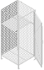 Wire Mesh TA-50 Gear Lockers