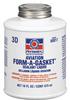 Permatex Form-A-Gasket 3D Gasket Adhesive/Sealant - Brown Liquid 16 fl oz Bottle - 80017 - #3 -- 686226-80017