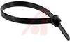 Tie, Cable; Black; 8 in.; 0.270 in.; 120 lbs. Tensile Strength, Maximum -- 70091833