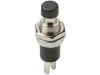 Pushbutton Switch, Black -- 603687