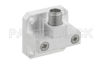 WR-34 UG-1530/U Square Cover Flange to 2.92mm Female Waveguide to Coax Adapter Operating from 22 GHz to 33 GHz -- PEWCA1021 - Image