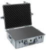 Pelican 1600 Case with Foam - Silver | SPECIAL PRICE IN CART -- PEL-1600-000-180 -Image
