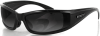Bobster Defender Sunglasses with Black Frame and Polarized -- BDEF101
