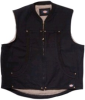 Dickies D9105BK-2XL Sherpa Lined Duck Vest Black 2XLarge -- VESTBLA2XL - Image