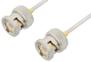 BNC Male to BNC Male Cable 60 Inch Length Using PE-SR405AL Coax -- PE34162LF-60 -Image