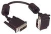 DVI-D Single Link DVI Cable Male / Male Right Angle, Bottom 5.0m -- MDA00023-5M -Image