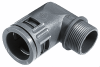 Conduit Connectors for SILVYN® RILL PA 6 & PA 12 Conduit -- SILVYN® KLICK 90° Series