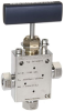 High Pressure, 60 kpsi, 2-way Angle Valve -- Replaceable Seat, 65V9H