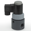 Compact and Economical PTFE Bellows Thermoplastic Solenoid Valve Series EAST -- EAST2V6W11-PV