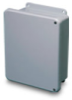 Non-metallic JIC series 6 x 4 x 4 inch (HxWxD) NEMA 4X Enclosure,... -- HW-J60404CHSC