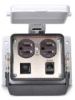 Size 32B Panel Interface Connector: (1) outlet, (1) RJ45 -- ZP-PDA-32-201