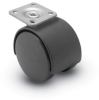 Nylon Twin Wheel Casters -- Source II -- View Larger Image