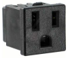 CONNECTOR, DC POWER, RECEPTACLE, 15A -- 70B1372