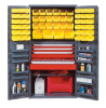 "Heavy-Duty All-Welded Storage Cabinets - 36"" Wide - QSC-3672-4D - Image"