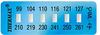 Thermax® 6 Level Mini Strip Irreversible Temperature Recording Strips -- 06STHM0ML4C01PK