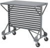 Akro-Mils 250 lb Gray Powder Coated Steel 14 ga Rail Hanging System - 36 1/2 in Height - 30812 -- 30812