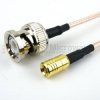 BNC Male to SMB Plug Cable RG316 Coax in 60 Inch -- FMC0816316-60 -Image