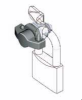 Handle & Wing Knob Quarter Turn Latch -- Padlockable Series - Image