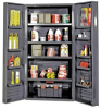 """Heavy-Duty All-Welded Storage Cabinets - 36"""" Wide - QSC-36-4IS-12DS - Image"""