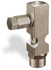 """(Formerly B1631-7X01), Straight Small Sight Feed Valve, 1/4"""" Female NPT Inlet, 1/4"""" Female NPT Outlet, Tamperproof -- B1628-433B1TW -Image"""