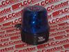TRI LITE MARK6-110P/B ( ROTATING BEAM. ALL MODELS SPECIFY DOME COLOR.DC MODELS SPECIFY VOLTAGE.MAG. MOUNT UNITS COME WITH A 10FT. CORD AND CIGARETTE LIGHTER PLUG.MANY AC MODE ) -Image