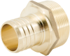 Lead Free CrimpRing™ Threaded Adapters - Crimp x Male -- LFWP12B -Image