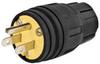 Watertight Plug Nema 5-15P,15A/125V,Bk -- 5RVU6