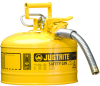 3 Gallon Type II Steel Flammable Liquid Safety Can -- CAN10721-YELLOW
