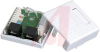 Box; White; Surface Mount; Dual; For CAT 5E cable -- 70121763 - Image