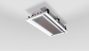 Ceiling-Mounted Chilled Beam (1 foot wide with 2-Way Discharge) -- ACB™ 45
