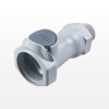 Coupling Body, In-Line Pipe Thread, Straight Thru -- HFC10812 -Image