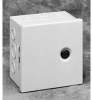 Pull - Junction Enclosure Steel Hinged, Slotted Flush Latch Cover -- 78351051050-1 - Image