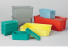 LEWISBins+ Plexton Stack-N-Nest® Fiberglass Containers -- 4652402
