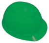 Hard Hat,4 pt Pinlock,HDPE,Green -- 21E364