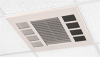 QMark, Commercial Downflow Ceiling Mounted Heater -- CDF