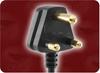 2.01m 0.75mm/2 H05VVH2-F BLACK ICC SANS 60799 SOUTH AFRICA TO IEC-60320-C7 POWER CORD -- 8587.039