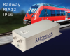 300W, IP66-Rated, Rugged, Railway Quality DC-DC Converter with Built in RIA12 Protection -- BAR 65R-D3 (IP66)