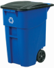 RUBBERMAID BRUTE Rollout Recycling Container -- 4559400