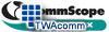 Commscope - Systimax Insert Panel - 4 Duplex SC Couplings -- M40DSC4-B-262 - Image