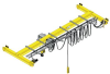 Bridge Crane -- Underhung Single Girder